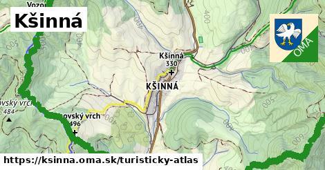 ikona Kšinná: 28km trás turisticky-atlas  ksinna