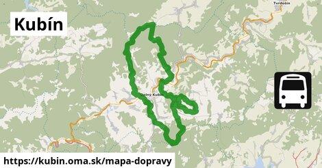 ikona Mapa dopravy mapa-dopravy  kubin