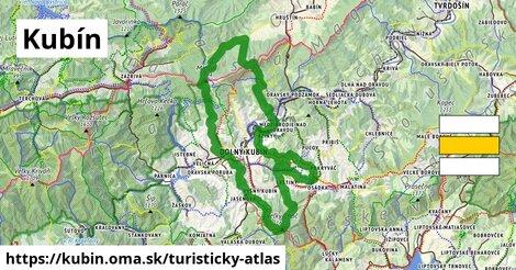 ikona Turistická mapa turisticky-atlas  kubin