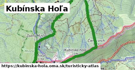 ikona Kubínska Hoľa: 12,0km trás turisticky-atlas  kubinska-hola