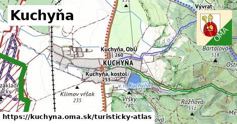 ikona Turistická mapa turisticky-atlas  kuchyna