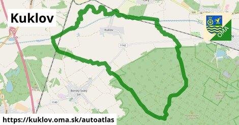 ikona Mapa autoatlas  kuklov