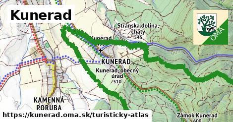 ikona Turistická mapa turisticky-atlas  kunerad
