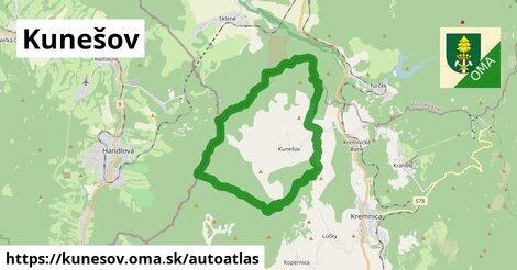 ikona Mapa autoatlas  kunesov