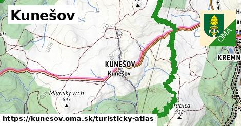 ikona Turistická mapa turisticky-atlas  kunesov