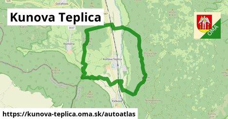 ikona Mapa autoatlas  kunova-teplica