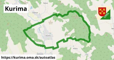 ikona Mapa autoatlas  kurima