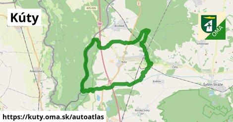 ikona Mapa autoatlas  kuty