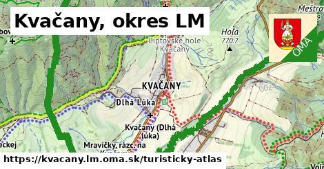 ikona Turistická mapa turisticky-atlas  kvacany.lm