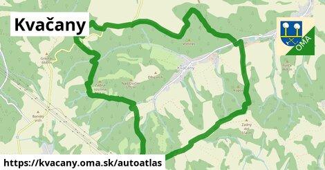 ikona Mapa autoatlas  kvacany