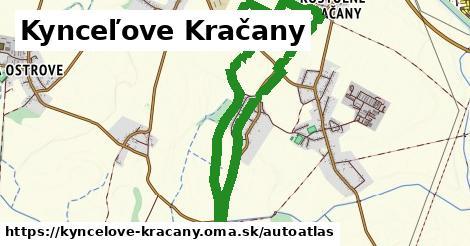 ikona Mapa autoatlas  kyncelove-kracany