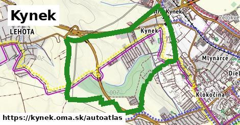 ikona Mapa autoatlas  kynek