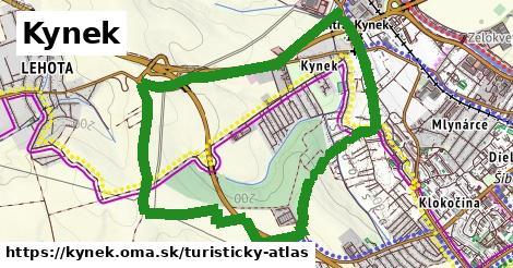 ikona Kynek: 4,3km trás turisticky-atlas  kynek