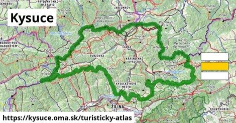ikona Turistická mapa turisticky-atlas  kysuce
