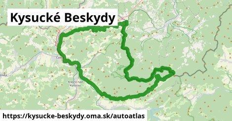 ikona Mapa autoatlas  kysucke-beskydy