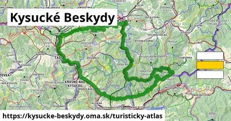 ikona Turistická mapa turisticky-atlas  kysucke-beskydy