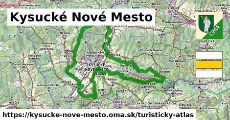 ikona Turistická mapa turisticky-atlas  kysucke-nove-mesto