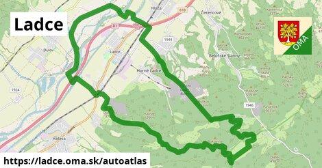 ikona Mapa autoatlas  ladce