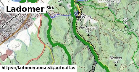ikona Mapa autoatlas  ladomer