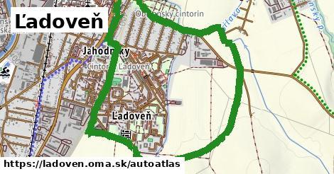 ikona Mapa autoatlas  ladoven