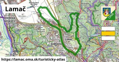 ikona Turistická mapa turisticky-atlas  lamac
