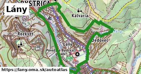ikona Mapa autoatlas  lany