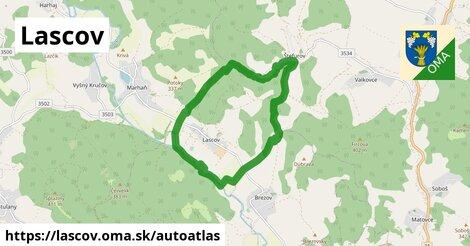 ikona Mapa autoatlas  lascov
