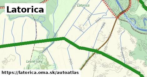 ikona Mapa autoatlas  latorica