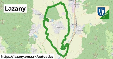 ikona Mapa autoatlas  lazany