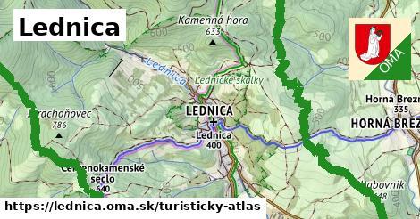 ikona Turistická mapa turisticky-atlas  lednica