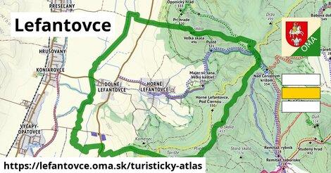 ikona Turistická mapa turisticky-atlas  lefantovce