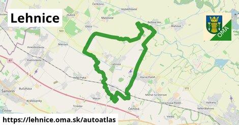 ikona Mapa autoatlas  lehnice