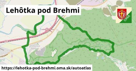 ikona Mapa autoatlas  lehotka-pod-brehmi
