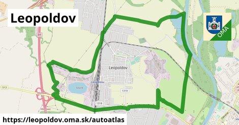 ikona Mapa autoatlas  leopoldov