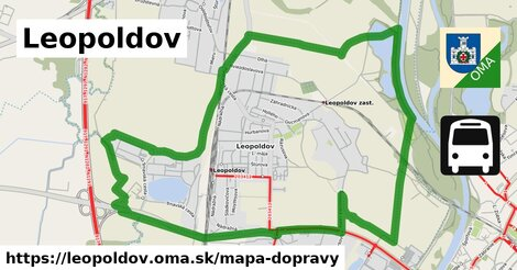ikona Mapa dopravy mapa-dopravy  leopoldov