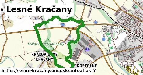 ikona Mapa autoatlas  lesne-kracany