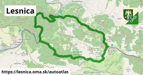 ikona Mapa autoatlas  lesnica