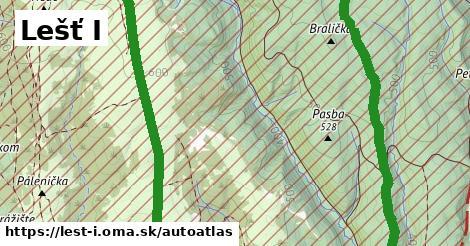 ikona Mapa autoatlas  lest-i