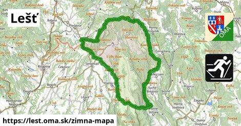 ikona Zimná mapa zimna-mapa  lest