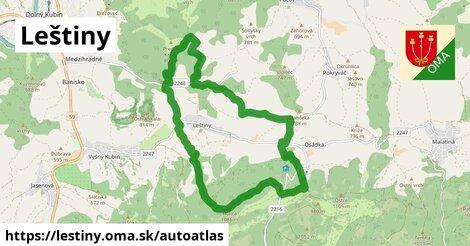 ikona Mapa autoatlas  lestiny