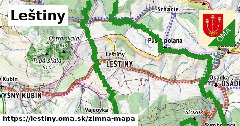 ikona Zimná mapa zimna-mapa  lestiny
