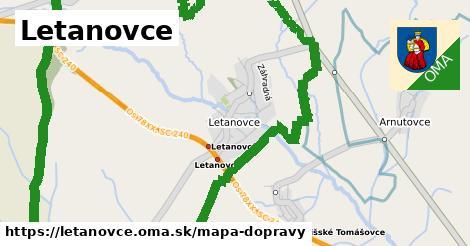 ikona Mapa dopravy mapa-dopravy  letanovce