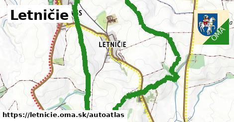 ikona Mapa autoatlas  letnicie