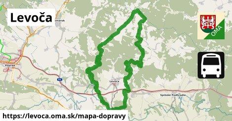 ikona Mapa dopravy mapa-dopravy v levoca