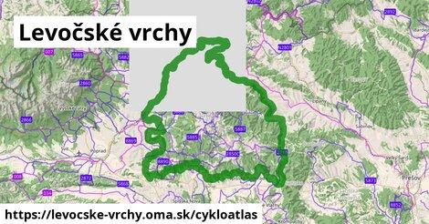 ikona Cykloatlas cykloatlas  levocske-vrchy