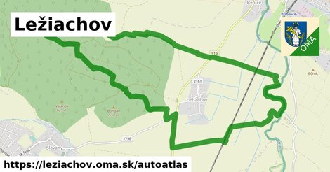 ikona Mapa autoatlas  leziachov