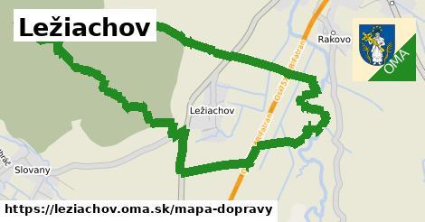 ikona Mapa dopravy mapa-dopravy  leziachov