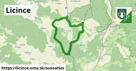 ikona Mapa autoatlas  licince