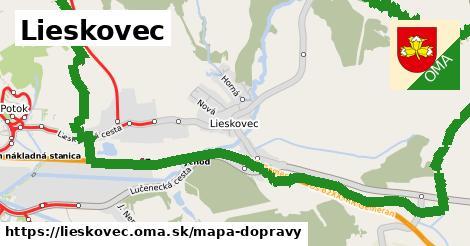 ikona Mapa dopravy mapa-dopravy v lieskovec