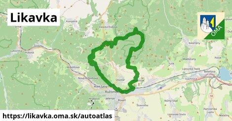 ikona Mapa autoatlas  likavka